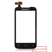 Touchscreen Ts For Lenovo A356, A369i A-369i ( 25 Pin ) Hitam Black