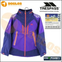 Jaket TRESPASS tres-tex DLX COMFOREX Waterproof & Breathable Fabric