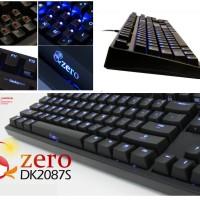 Ducky Zero Shine - TKL Mechanical keyboard (red, blue, brown switch)