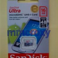 SANDISK ULTRA MICROSD 16GB 48MB/s Class 10 - Non Adaptor