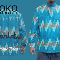 Koko Batik Manset Blue tosca