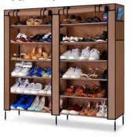 Jual Double shoes Dusk Rack 7th / Rak Sepatu Murah