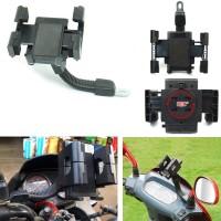Holder Spion Stand Bracket Handphone dan GPS Untuk Semua Sepeda Motor