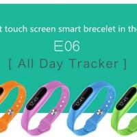 harga Tifo Smart Watch Bracelet Bluetooth E06 Tokopedia.com