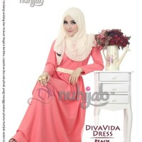 Diva Vida Dress (DVD) Peach