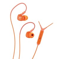 MEElectronics Sport-Fi Memory Wire In-Ear Earphones - M6P - Orange