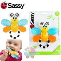 Sassy Teether Flutterby Gigitan Bayi