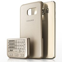 Samsung Galaxy Note 5 Keyboard Cover - Gold