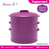 Tupperware Steam It Kukusan Tiga 3 Susun, Alat Dapur Murah, Kado, Hadiah