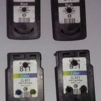Catridge 810 / 811 bekas (chip detect printer head rusak)