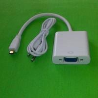 harga Connector Micro Hdmi To Vga (hp/tablet Ke Tv/projector Tokopedia.com