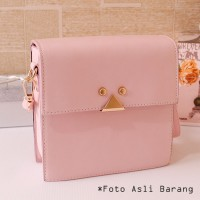 harga 8965 Tas Selempang Pink Wanita Impor Korea Sling Bag Cantik Jalan Hobo Tokopedia.com