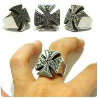 harga Cincin Independent Ring Titanium Cincin Cowok Keren Bikers Tokopedia.com