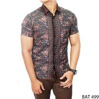 Harga model batik pria katun kombinasi warna bat | antitipu.com