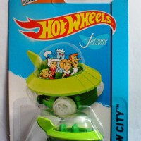 Hotwheels The Jetsons Capsule Car