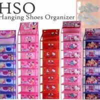 Hanging Shoes Organizer Motif / Rak Sepatu Gantung / HSO Karakter