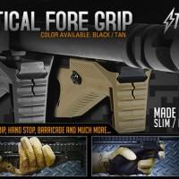 Strike Industries Cobra Tactical Fore Grip Black & Tan