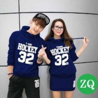 Harga jaket couple hockey 32 biru | Hargalu.com