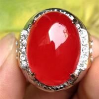 harga Cincin Batu Red Baron/ Akik Darah - Jv296 Tokopedia.com