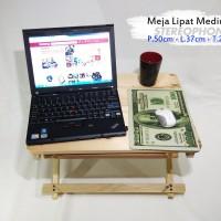 harga PROMO! Meja Lipat | Meja Lesehan | Meja Santai | Meja Laptop.. Praktis Tokopedia.com
