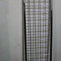 Kotak Jaring Ram Tempat Gantungan Display Hook Aksesoris 120x25cm