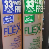 REVLON FLEX BODY BUILDING SHAMPOO / DRY DAMAGED - 592ML