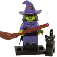 LEGO Minifigures Series 14 Monsters-71010 Wacky Witch Monster no 4 NEW