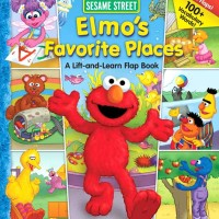 harga Sesame Street Elmo's Favorite Places - A Lift-and-Learn Flap Board Boo Tokopedia.com