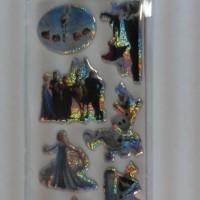 Sticker Timbul Karakter Frozen