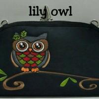 harga Dompet/tas Wanita Multifungsi Hpo Mariebelly Curve Lily Owl Tokopedia.com