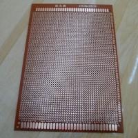 PCB Lubang 12cmx18cm Fiber Matrix Circuit Board
