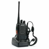 HT Baofeng BF-888S UHF 400-470 MHz Walkie Talkie 16 CH + FREE Earset