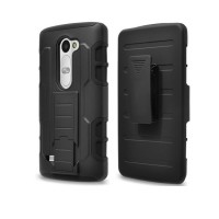 Lg Leon Bumper Armor Dual Layer Full Protection Case