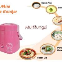 Mini Rice Cooker ~ Mungil ~ Portable Traveling ~ Alat Masak Nasi