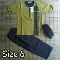 Baju koko ANA untuk anak usia 4 - 6 tahun