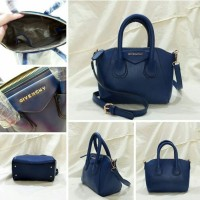 GIVENCHY MINI ANTIGONA NAVY