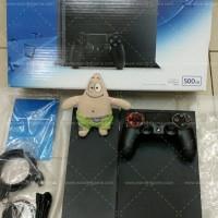 Harga Promo! PS4 Jet Black 500GB CUH1206A (Garansi Full Serv 1 Tahun)