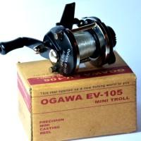 Reel pancing, mini troll . ogawa ev-105