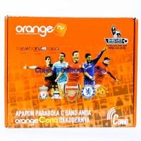 Receiver TV Orange C Band Nonton Liga Eropa Bola