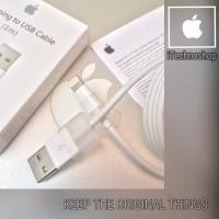 Original 100% Kabel Data Lightning iPhone 2,3/3Gs,4/4s,5/5s/6, iPad 1,2,3,4,Air,Mini,MiniRetina, iPod 1,2,3,4,5