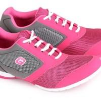 Sepatu Olahraga Wanita Garsel Shoes Pink Abu