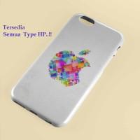 iphone 5 wallpaper multi color apple logo,iphone case, semua hp
