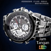 Jual Jam Tangan Analog Pria Rolex SKMEI Elgrand 0993 Hitam Original