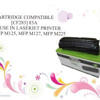 CARTRIDGE COMPATIBLE [CF283] 83A LASERJET PRINTER PRO MFP M125