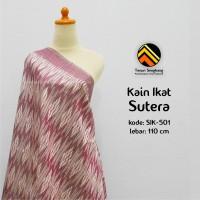 harga Tenun Sengkang Sik-501 - Kain Tenun Ikat Sutera - Magenta Putih Tokopedia.com