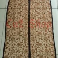 Jual tirai pintu magnet anti nyamuk/import taiwan/motif batik/list jahit Murah