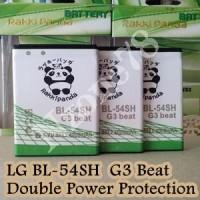 Baterai Lg Bl-54sh Lg G3 Beat D724 D335 L80 L9 Rakkipanda Double Power