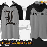 Deathnote T-Shirt Hood (Kaos Hoodie - KHA DN 02)