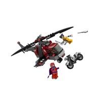 Lego 6866 Wolverine's Chopper Showdown