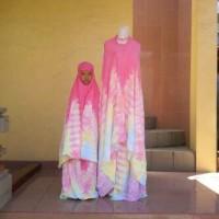 harga Mukena Katun Rayon/bali Tie Dye Couple Ibu Anak Tokopedia.com